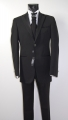 Black pout dress Luciano sopranos complete with waistcoat and tie