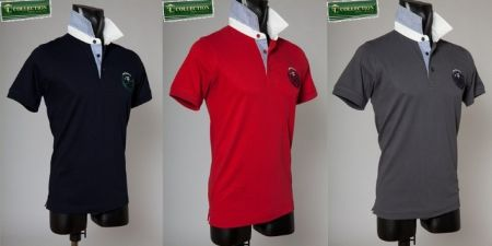 Polo cotton stretch bramante three colors