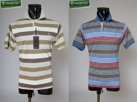 Polo t-shirt cotton bramante