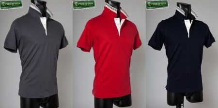 Polo t shirt bramante slim fit tre colori