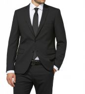 Black micro dress digel design drop 4 short slim fit stretch wool