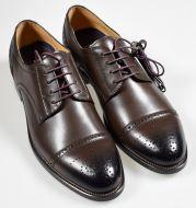 Elegant brown shoe digel derby british model