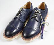 Blue shoe Digel model Derby English rubber bottom