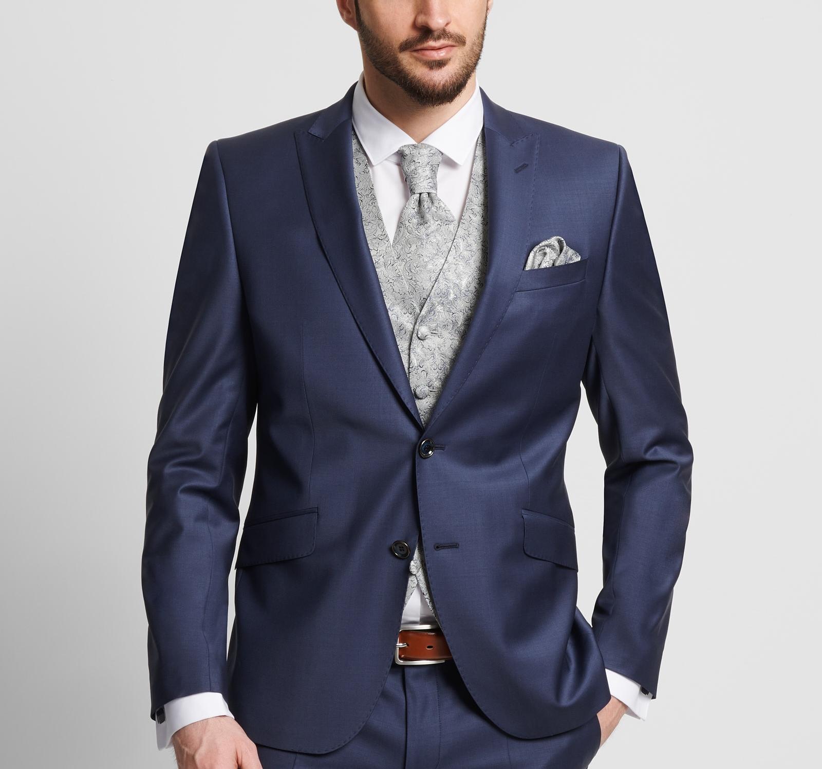 25046dd89e57 Abito elegante cerimonia uomo Digel Bluette Slim Fit negozio online ...