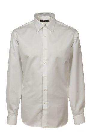Camicia no stiro ingram cotone liscio twiil vestibilità comfort