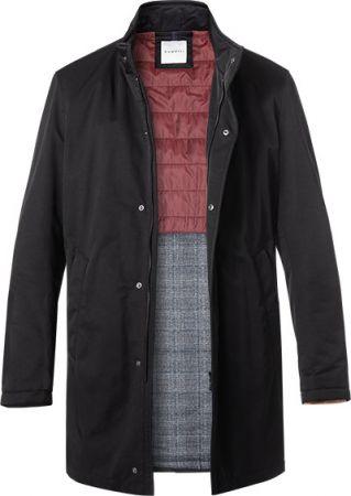 wholesale dealer fd842 a4a2c Trench cappotto tecnico blu bugatti idrorepellente