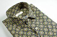 Camicia ingram slim fit fantasia floreale puro cotone