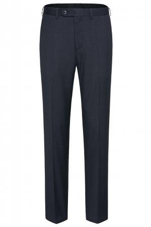 Pantalone digel blu con micro disegno drop sei modern fit