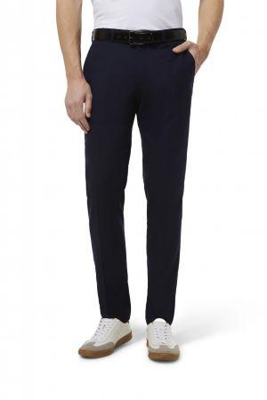 Pantalone blu slim fit digel move misto viscosa e poliestere