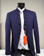 Dress musani bluette model korean slim fit