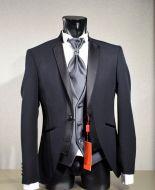 Modern tuxedo slim fit nero musani ceremony