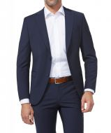 Abito blu elegante digel preference slim fit in lana stretch