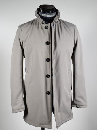 Adimari modern fit ice waterproof trench coat