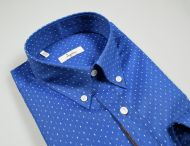 Blue shirt ingram regular fit neck button down