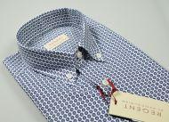 Camicia pancaldi in cotone stampato regular fit