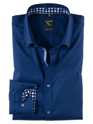 Olymp cotton olymp slim fit shirt operated stretch