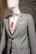 Light grey dress digel move extra slim fit stretch