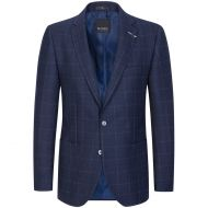 Giacca blu a quadri digel drop sei modern fit