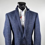 Wool cotton and silk cotton digel jacket drop six modern fit