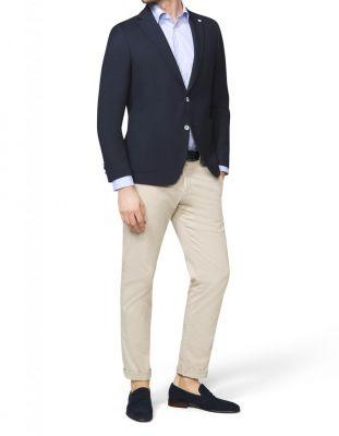Giacca blazer blu digel sfoderato drop sei modern fit