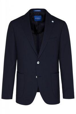 Digel blue blazer jacket unfurled drop four short