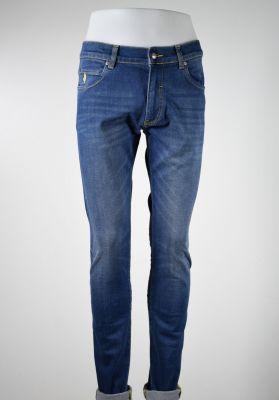 Jeans mcs in denim stretch lavaggio leggero