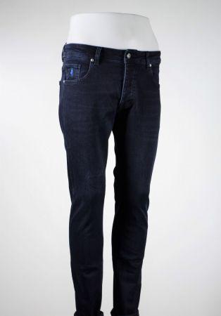 Jeans mcs denim blu scuro stone washed