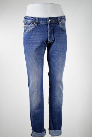 Jeans mcs denim elasticated lived effect
