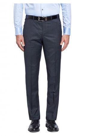 Pantalone digel in pura lana super 120's drop sei modern fit