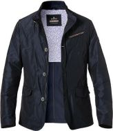 Blue milestone sports jacket flaunted slim fit