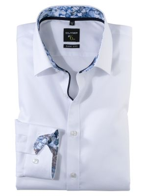 White shirt olymp super slim fit