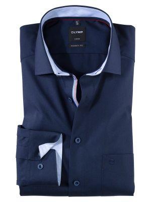 Camicia olymp in puro cotone no stiro modern fit