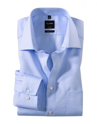 Oxford cotton olymp shirt easy modern fit ironing