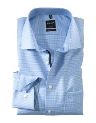 Olymp cotton shirt no ironing with small modern fit design