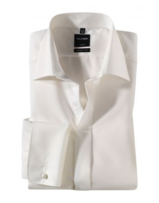 Elegant modern fit olymp shirt with double wrist for twins