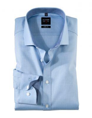 Camicia slim fit olymp level five cotone stretch in sei colori