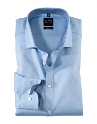 Slim fit shirt olymp level five cotton stretch in six colors