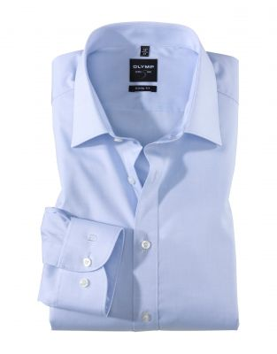 Slim fit shirt olymp cotton chambray stretch in five colors