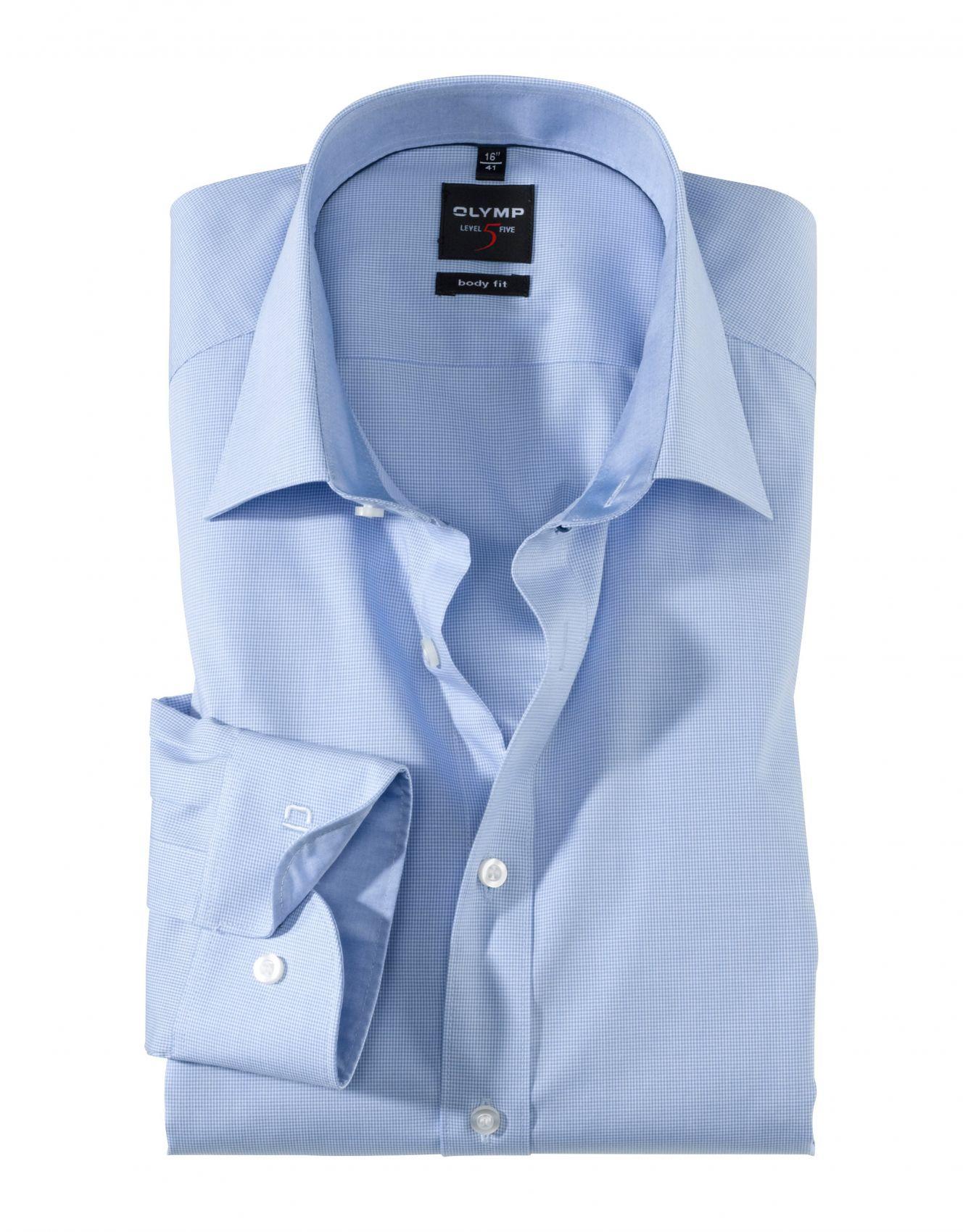 OLYMP COMFORT FIT - Camicia elegante marine