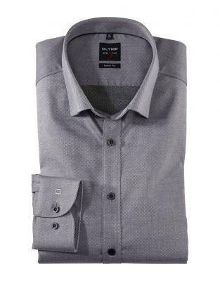 Camicia olymp level five in cotone twill oxford slim fit