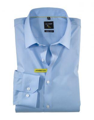 Camicia olymp super slim fit cotone dinamico flex stretch