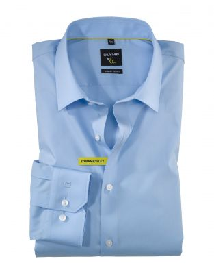 Shirt olymp super slim fit cotton dynamic flex stretch
