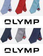 Cravatta classica in seta pura olymp in sei colori