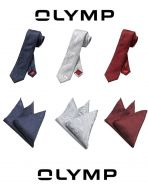 Olymp tie with damask silk jacket handkerchief