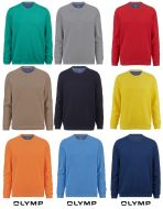 Olymp cotton neck sweater in nine colours
