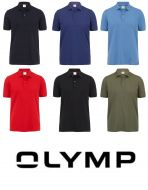 Polo classica olymp slim fit in cotone stretch