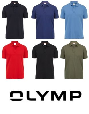 Classic olymp slim fit cotton stretch polo