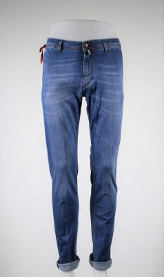 Jeans denim trousers stretch bsettecento