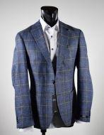 Giacca in lana e lino digel sfoderata drop sei modern fit