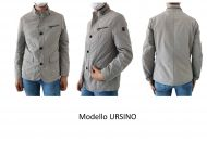 Field jacket milestone gray pearl unfurled slim fit fit